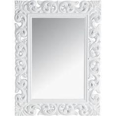 Miroir psyché en bois et résine doré H 168 cm
