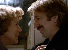 "Jamie (Alan Rickman): ""Thank you for missing me."" // Nina (Juliet Stevenson): ""I have. I - I do."" -- from Truly Madly Deeply (1990) directed by Anthony Minghella"