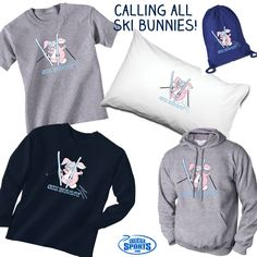 The ski season isn't over yet! Grab some ski bunny gear and head to the slopes in style!