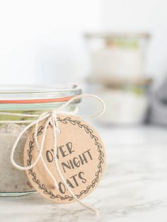 Over Night Oats – der perfekte Start in den Tag zum mitnehmen Place Cards, Place Card Holders, Color, Colour, Colors, Paint
