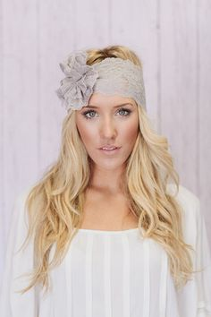 Lace Headband | three bird nest..need this for my girls for our family pictures