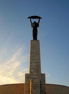 Szabadság-szobor (Liberty Statue / Freiheitsstatue / Statue de la Liberté) Budapest City, Statue Of Liberty, Travel, Statue Of Libery, Statue Of Liberty Facts, Viajes, Destinations, Traveling, Trips