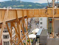 Höhenrausch in Linz Austria, Construction, Ideas, Home Decor, Scaffolding, Architecture, Linz, Building, Decoration Home