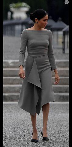 78b17eac7 26 melhores imagens de VESTIDOS CINZA | Elegant dresses, Formal ...