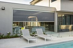There's never been an easier way to extend your home. Designed and tested in Australia, Zipscreen promises to unlock your home's hidden potential, without the time-consuming stress and cost of traditional renovations. Outdoor Shade, Outdoor Furniture, Outdoor Decor, Sun Lounger, Shades, Colours, Traditional, Design, Home Decor