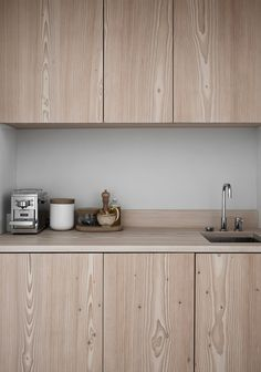 Check out this refreshing take on wooden kitchen cabinetry | My Paradissi
