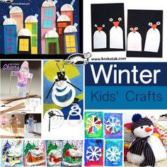 winter - kids crafts