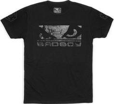 Bad Boy Global Walkout T-shirt Black on Black. Het Bad Boy Global Walkout T-shirt is gemaakt van een ultra-zachte katoen welk een langdurig comfort levert.