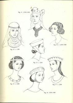 Ladies fashion through the centuries
