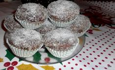 Kókuszkocka muffin Muffins, Cupcakes, Sweets, Breakfast, Food, Cooking, Morning Coffee, Muffin, Cupcake Cakes