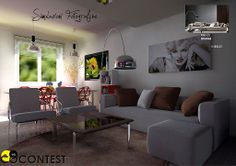 The best living room contest on CoContest: www.cocontest.com