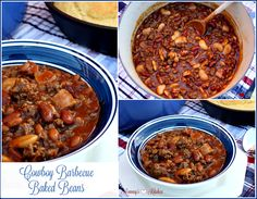 Mommy's Kitchen - Recipes From my Texas Kitchen!: Cowboy Barbecue Baked Beans {Bush's Baked Beans}