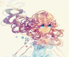 clavies, cymphony, and anime-girl image
