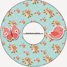 Pájaros y Mariposas: Etiquetas para Candy Bar para Imprimir Gratis. Fizzy Moon, Bird Free, Baby G, Candy Boxes, Retro, House Party, Baby Shower Parties, Free Printables, Decoupage