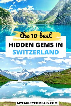 10 least touristy destinations in Switzerland, the true hidden gems in this beautiful country. Read on for guides on how to visit these stunning Swiss locations. Best Of Switzerland, Switzerland Travel Guide, Places In Switzerland, Switzerland Destinations, Cool Places To Visit, Places To Travel, Places To Go, Europe Travel Guide, Europe Destinations