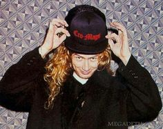 Dave Mustaine-Megadeth.........