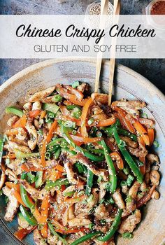 Crispy Shredded Chinese Chicken – paleo, gluten free, soy free - perfect clean eating recipe of a classic dish. Via http://eatdrinkpaleo.com.au/crispy-chinese-shredded-chicken-stir-fry-guest-recipe/