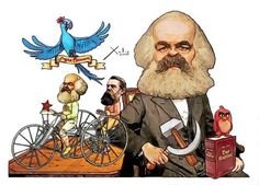Xulio Formoso: Karl Marx Karl Marx, Caricatures, Cartoon Drawings, 1, Portraits, Fictional Characters, Red Flag, Drawing Cartoons, Drawings