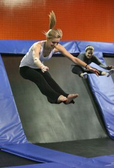 UrbanAir Trampoline Park Fitness Classes In Southlake Sounds So Fun