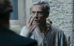 Peter Capaldi and his Angry eyebrows.