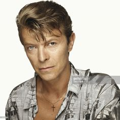 British singer David Bowie, London 1992.