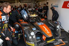 Trouble for the #35 OAK Racing Ligier - Nissan: Alex Brundle, Jann Mardenborough, Mark Shulzhitskiy