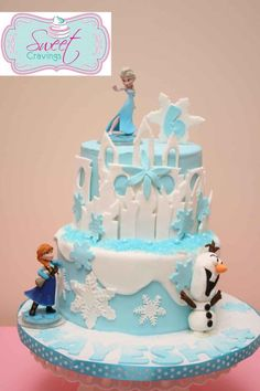 Frozen castle cake - Cake by Sweet Cravings Toronto