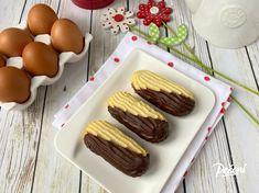 Třené linecké banánky - Víkendové pečení Sausage, Meat, Baking, Food, Author, Sausages, Bakken, Essen, Meals