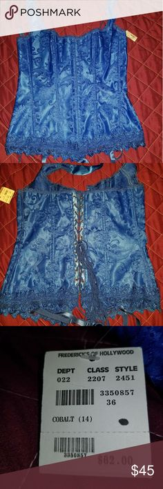 Hollywood Dream Halter Corset NWT Frederick's of Hollywood Other