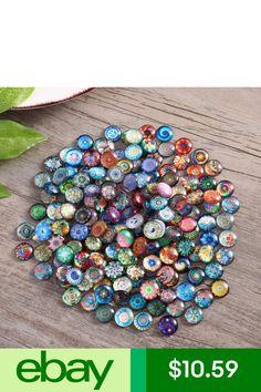 Glass & Mosaic Tiles Rosenice Mosaic Tiles Mixed Round For Crafts Glass Supplies & Garden Ceramic Mosaic Tile, Mosaic Diy, Mosaic Crafts, Mosaic Projects, Mosaic Glass, Glass Art, Fused Glass, Mosaic Supplies, Glass Supplies