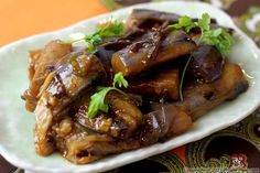 Spicy Eggplant Recipe Recipe - think I may have all the ingredients for this. eggplant ready in the garden. :-)