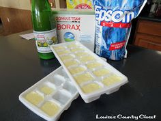 Homemade Dishwasher Soap made easy...