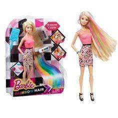 Barbie Peinados Multicolor
