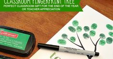 I have such a hard time coming up with gifts for teachers. This year was made much easier by Balancing Home and their free Classroom Finge...