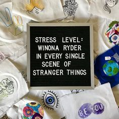 You could say our stress level is at an... Eleven : @hours.embroidery