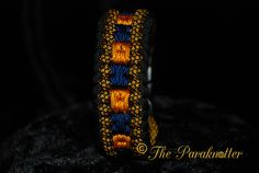 Paracord bracelet Sanctified Modified Square DIY Tutorial on our website…