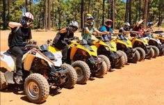 3 hour guided tours no licence required, private group tours - Northern Perth Suburbs Perth Western Australia, Quad Bike, Group Tours, Tour Guide, Tourism, Monster Trucks, Icons, Quad, Turismo