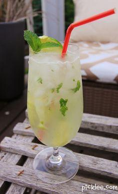 skinny vodka mojito
