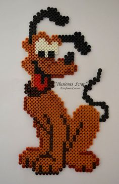 Pluto hama beads by ILUSIONES SCRAP