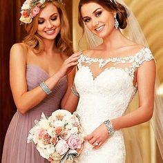 #bride and her #maidofhonor 😍😍 #weddinginspirations #weddinggown #bridalparty #bffs #bridetobe #beautiful #weddingtheme #weddingplanner #weddingideas #weddingbells #instadaily #followme