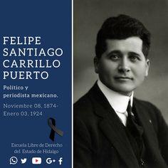 #UnDíaComoHoy pero de 1924, murió en Mérida Yucatán, Felipe Santiago Carrillo Puerto, político, periodista, caudillo revolucionario mexicano y gobernador de Yucatán de 1922 a 1924. #HistoriaDeMéxico #ELDEH #ConoceTuHistoria