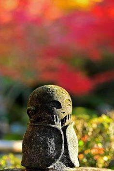 Jizu statue in Japan.
