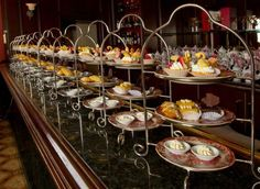 Afternoon tea at the Fairmont Royal York