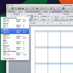 how to create an agenda in word
