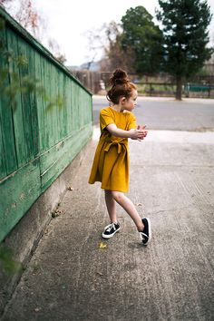 Image 2 of DRESS WITH BOW / LEATHER PLIMSOLLS from Zara