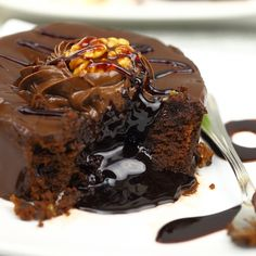 Grandmother's Kitchen   chocolate lava cake