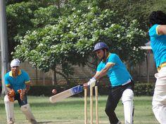 Batsman at PCCare247 Cricket Tournament 2012