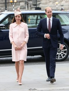 Kate Middleton and Prince William in London