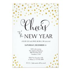 New Year's Eve Party Invitation / New Year's Party New Years Eve Invitations, Halloween Party Invitations, Graduation Invitations, Wedding Invitation Wording, End Of Year Party, New Years Eve Party, Free Invitation Templates, Custom Invitations, Trunk Party