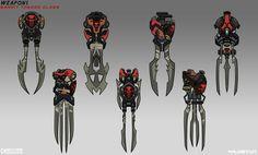 ArtStation - Bandit Weapons, Johnson Truong